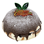 Large Marble Crunch Xmas Pudding